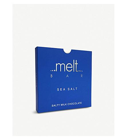MELT Sea salted milk and dark chocolate bars 270g