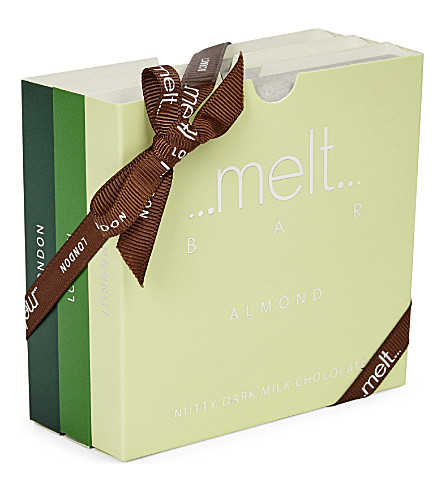 MELT Wild, Mint and Almond chocolate bar set 270g