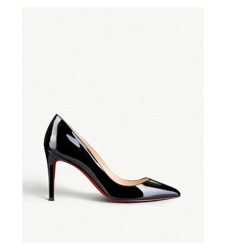 CHRISTIAN LOUBOUTIN Pigalle 85 patent calf (Black