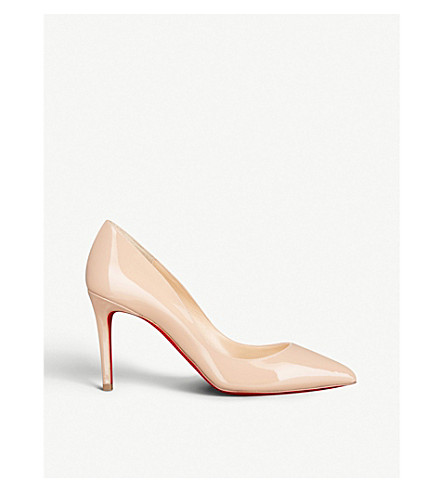 4ae19320edfe CHRISTIAN LOUBOUTIN Pigalle 85 patent calf (Nude+6248