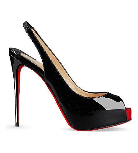 CHRISTIAN LOUBOUTIN Private Number 120 patent (Black/red