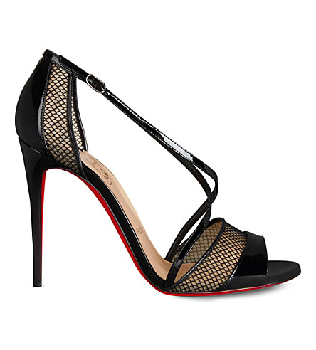 CHRISTIAN LOUBOUTIN Slikova 100 patent (Version+black