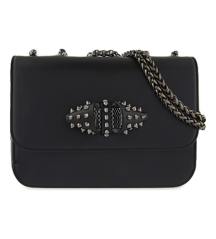 CHRISTIAN LOUBOUTIN Sweet Charity small (Black/gun+metal