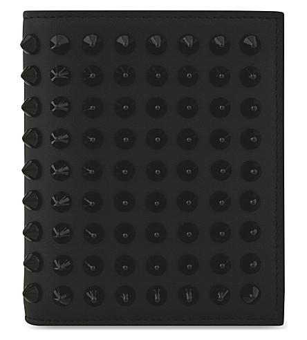 CHRISTIAN LOUBOUTIN Paros wallet (Black/black
