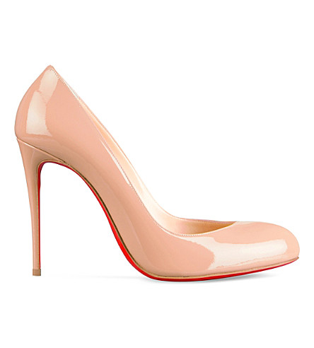 CHRISTIAN LOUBOUTIN Breche 100 patent (Nude