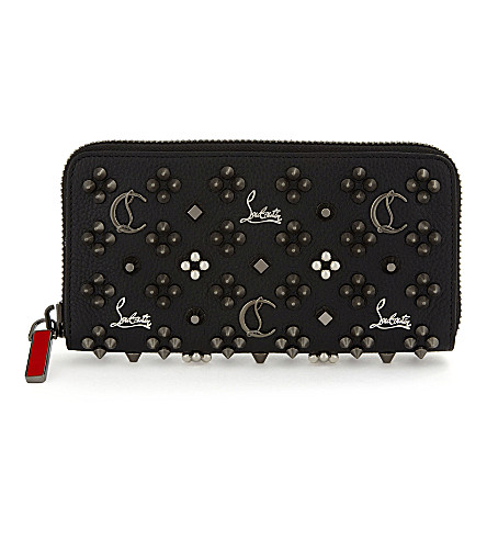CHRISTIAN LOUBOUTIN M panettone wallet calf e (Black/multimetal