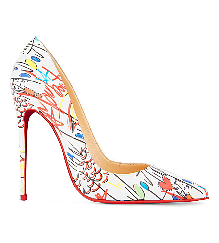 38f8704bd63 CHRISTIAN LOUBOUTIN So Kate 120 pat loubitag (White