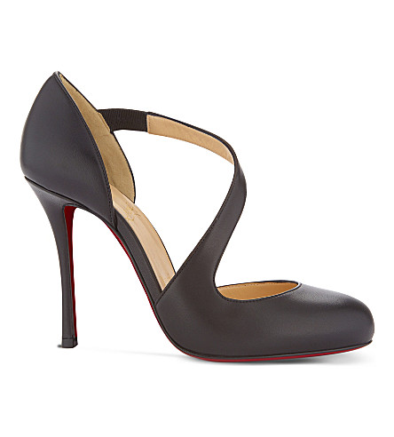 CHRISTIAN LOUBOUTIN Decalcoco 100 Nappa Shiny (Black