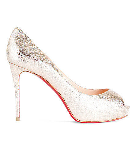 CHRISTIAN LOUBOUTIN New very prive 100 specch (Rose+gold