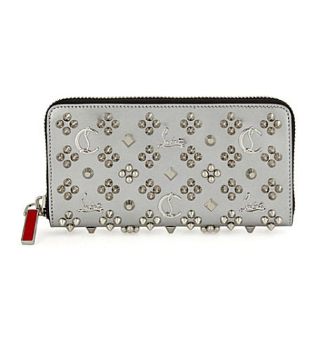 CHRISTIAN LOUBOUTIN M panettone wallet specch (Silver/silver