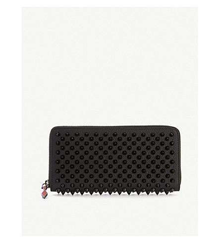 CHRISTIAN LOUBOUTIN Panettone wallet nv cal (Black/black
