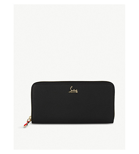 CHRISTIAN LOUBOUTIN Panettone wallet nv cal (Black/gold