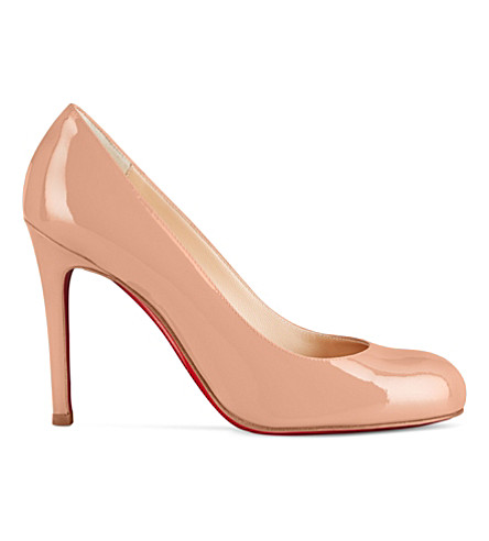 CHRISTIAN LOUBOUTIN Simple Pump 100 patent calf (Nude+6248