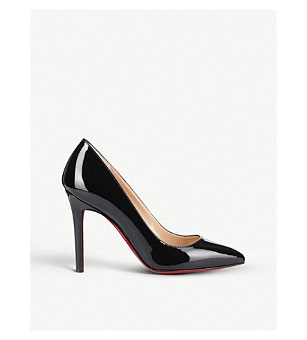 CHRISTIAN LOUBOUTIN Pigalle 100 patent (Black