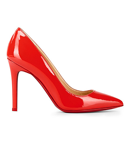 CHRISTIAN LOUBOUTIN Pigalle 100 patent (Bisou