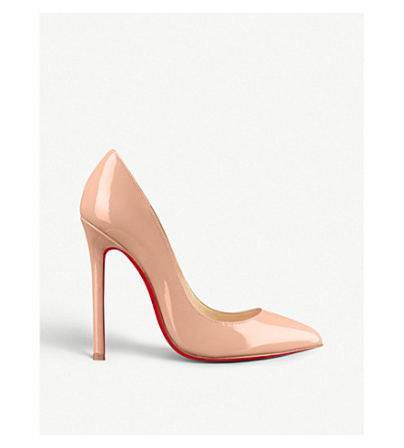d5ac6606a6d4 CHRISTIAN LOUBOUTIN Pigalle 120 patent calf (Nude+6248