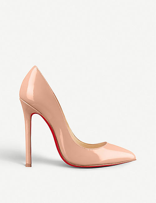 9ee285506b4 CHRISTIAN LOUBOUTIN - Pigalle 120 patent calf