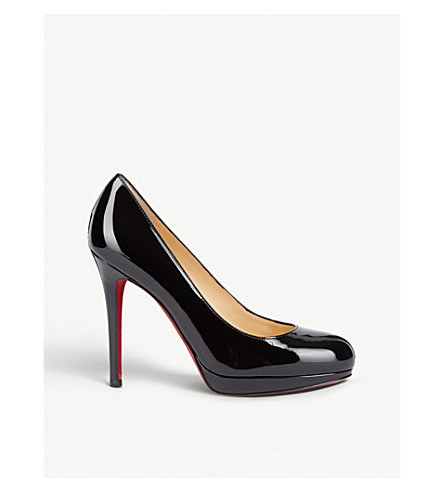 CHRISTIAN LOUBOUTIN New Simple Pump 120 patent calf (Black