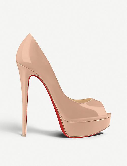 78dd9384970 CHRISTIAN LOUBOUTIN - Lady Peep 150 patent calf