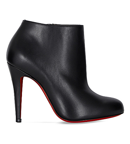 CHRISTIAN LOUBOUTIN Belle 100 calf (Black