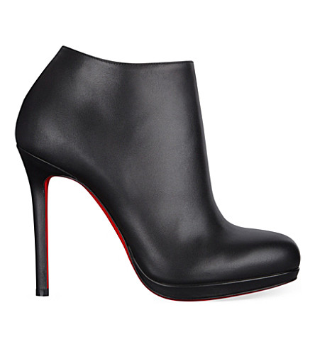 CHRISTIAN LOUBOUTIN Bella Top 120 calf (Black