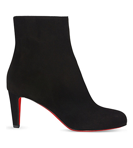 CHRISTIAN LOUBOUTIN Top 70 veau velours (Black