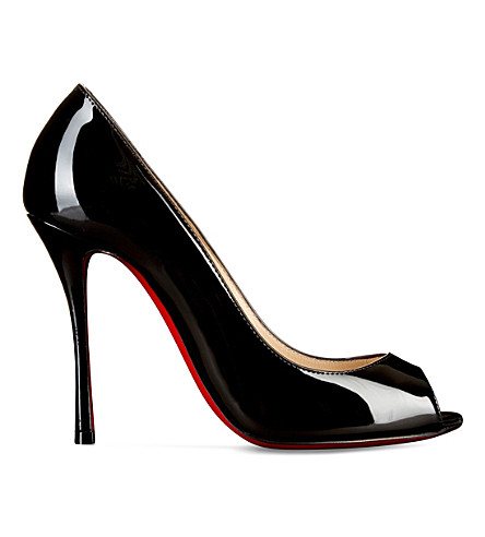 CHRISTIAN LOUBOUTIN Yootish 100 patent (Black