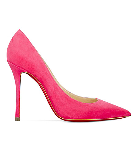 CHRISTIAN LOUBOUTIN Decoltish 100 suede (Darling