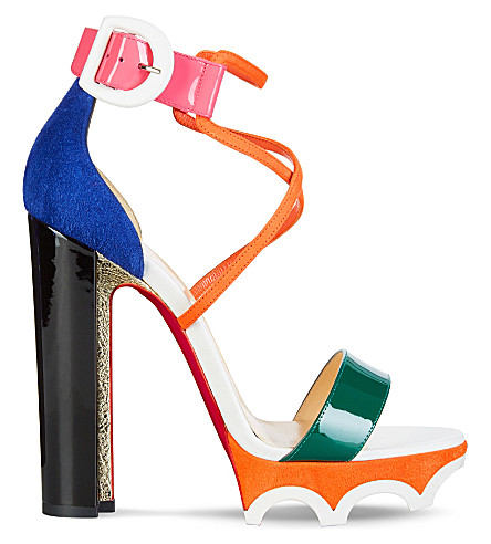 CHRISTIAN LOUBOUTIN Atletika 140 patent (Version+multi