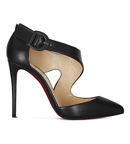 CHRISTIAN LOUBOUTIN Sharpeta 100 nappa shiny (Black
