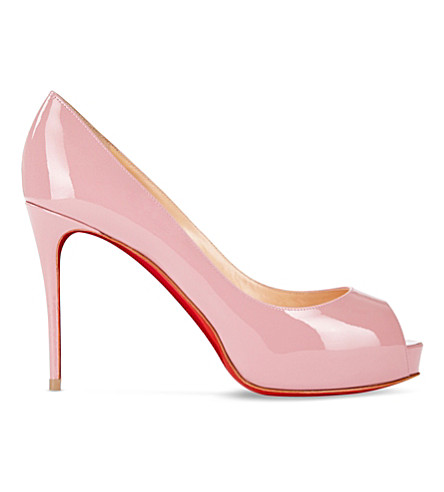 CHRISTIAN LOUBOUTIN New Very Prive 100 patent (Voile