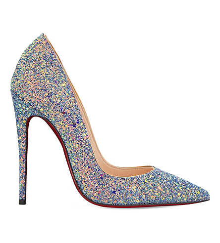 CHRISTIAN LOUBOUTIN So Kate 120 glitter dragonfly (Etincelle