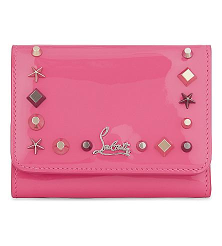 CHRISTIAN LOUBOUTIN Macaron mini wallet (Darling/multimetal