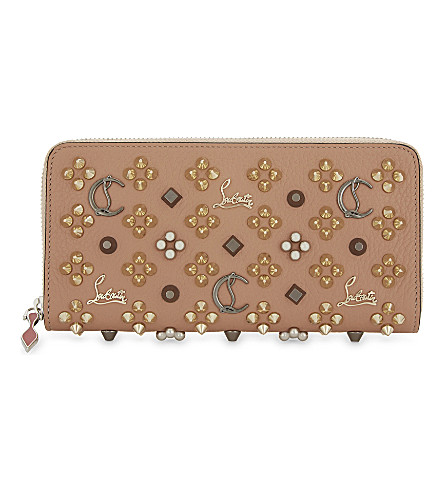 CHRISTIAN LOUBOUTIN Panettone wallet (Nude/multimetal