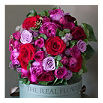 THE REAL FLOWER COMPANY Deluxe red and pink bouquet
