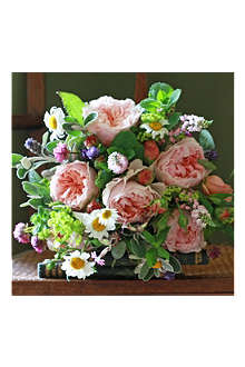 THE REAL FLOWER COMPANY English Evelyn bouquet
