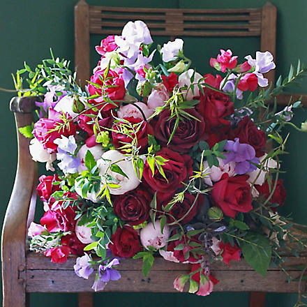 THE REAL FLOWER COMPANY Heavenly scented summer bouquet