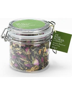 THE REAL FLOWER COMPANY Jasmine rosebud blend loose tea