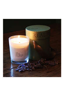 THE REAL FLOWER COMPANY Lavender candle