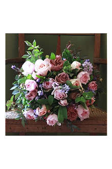 THE REAL FLOWER COMPANY Luxury Vintage Pink Summer bouquet