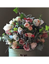 THE REAL FLOWER COMPANY Scented Luxury Woodland bouquet
