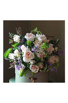 THE REAL FLOWER COMPANY Margaret Merrill garden bouquet