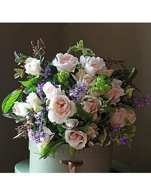 THE REAL FLOWER COMPANY Margaret Merrill garden bouquet