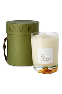 THE REAL FLOWER COMPANY Meadow scented candle