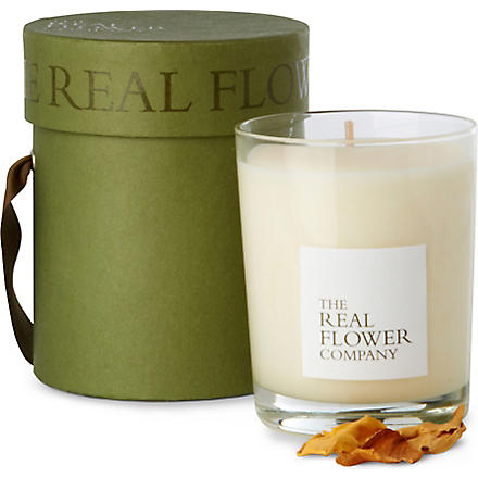 THE REAL FLOWER COMPANY Meadow candle