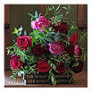 THE REAL FLOWER COMPANY Red & Pink Posy bouquet
