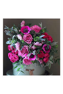 THE REAL FLOWER COMPANY Spring rose, hellebore & anemone bouquet