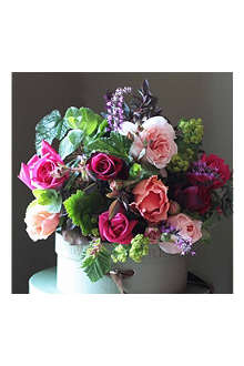 THE REAL FLOWER COMPANY Scented English Rose Garden bouquet