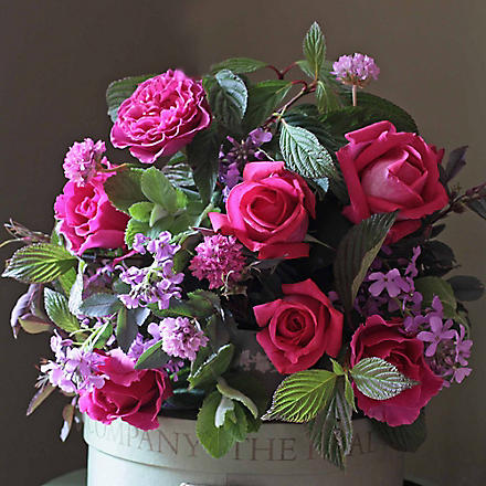 THE REAL FLOWER COMPANY Scented garden princess rose posy