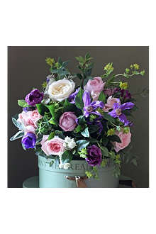 THE REAL FLOWER COMPANY Pink Rose & Clematis bouquet